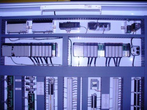 Baxley Process Controls Panel