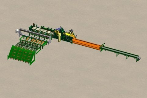 Baxley Transverse edger system layout